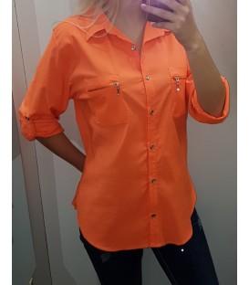 Didesnio dydžio ryškūs marškiniai