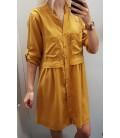 Oversize marškinukų tipo laisva suknelė