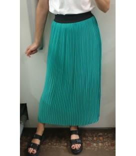 Ilgas gofruotas sijonas